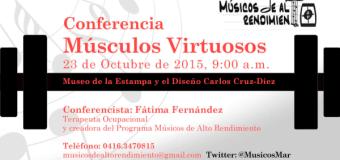 Conferencia: Músicos Virtuosos