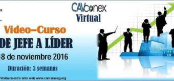 Venezuela: CAV invita a participar en el vídeo-curso «De Jefe a Líder»