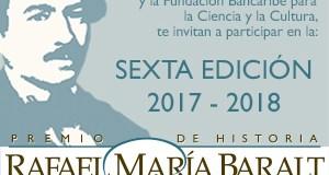 Venezuela: Premio Rafael María Baralt convoca a jóvenes historiadores