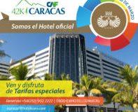 Venezuela: Eurobuilding Hotel & Suites Caracas hotel oficial del maratón CAF