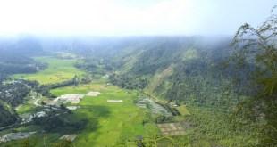 Foto | Kabut di Puncak Tebing Harau, Tanah Minang
