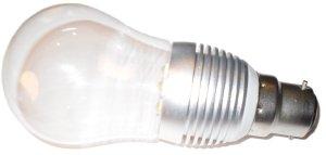 Globe B22 LED – 3W eqv. to 35W