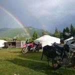 Sogar dr Regenbogen war zu Besuch