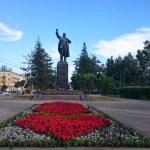 Lenin fehlt in keiner größeren russischen Stadt!