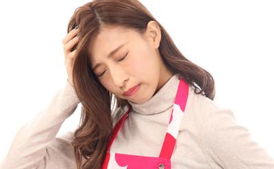 【頭痛】頭痛に悩む主婦