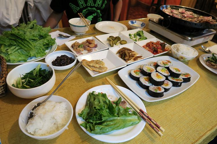 ラパス コリアンタウン 韓国料理