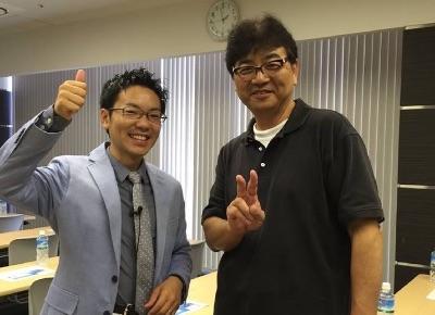 高橋さんと奥(横)