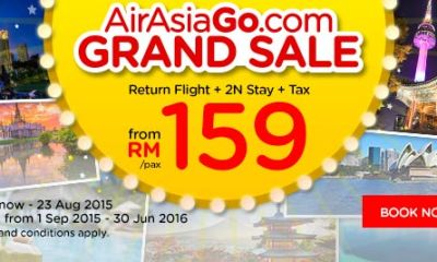 AirAsiaGo.com's Grand Sale