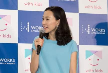 女優・木村佳乃さんが明かす「仕事の原動力は子どもたち」
