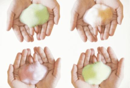洗うと色が変わるミューズ「泡ハンドソープ」実際に親子で使ってみた