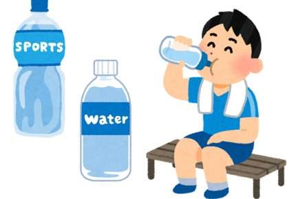 運動中の水分量、どのくらい必要なの?