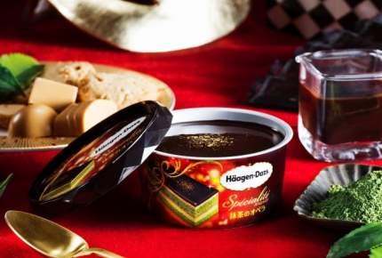 抹茶が主役のぜいたくスイーツ!ハーゲンダッツの「抹茶のオペラ」が期間限定で発売