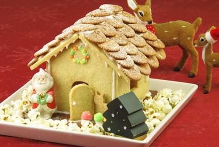 クリスマスレシピ☆お菓子の家