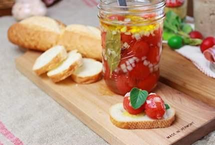 お洒落なお料理を持ってピクニックやお花見に出かけよう!ミニトマトのマリネ