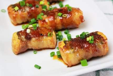 GW後の節約レシピ!ボリューミーでご飯も進む♪肉巻き豆腐ステーキ