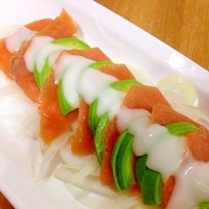 プチ贅沢な時に♪ 旬の魚でカルパッチョ