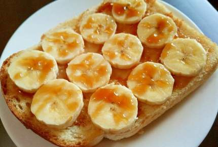 新食感!バナナはホットで食べるのがおいしい