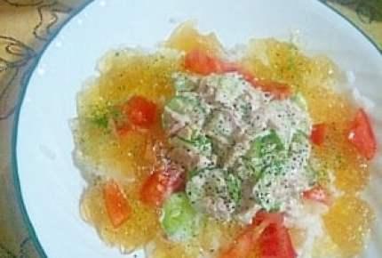 冷製パスタや冷や汁だけじゃない!夏は「ジュレ飯」など簡単冷やご飯レシピでランチ