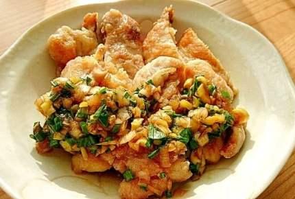 「油淋鶏のたれ」が大活躍!香味ソースで夏バテ防止にピッタリなさっぱり美味しい中華