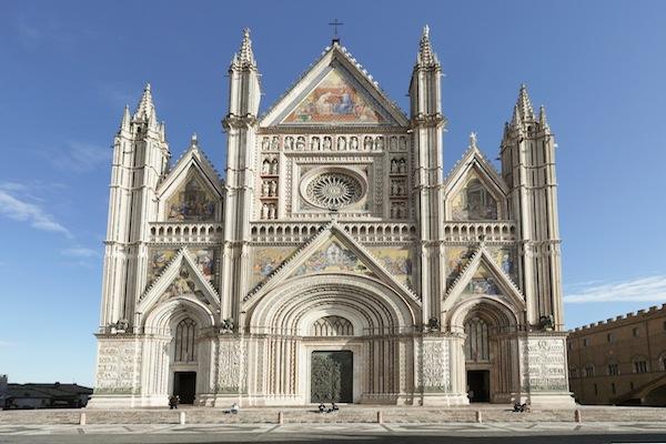 Orvieto's Facade