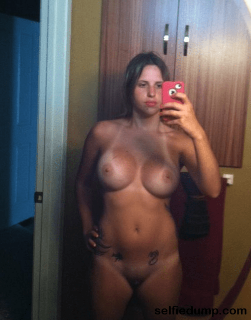 Exposed Amateur Selfie