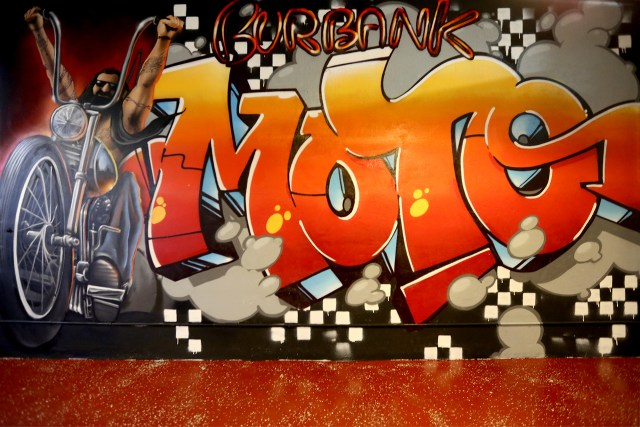 self uno selfuno dcypher exist masen cbscrew david mann burbank moto wall mural comission