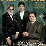 Making of the Filmfare 100 years of Indian cinema issue cover shoot