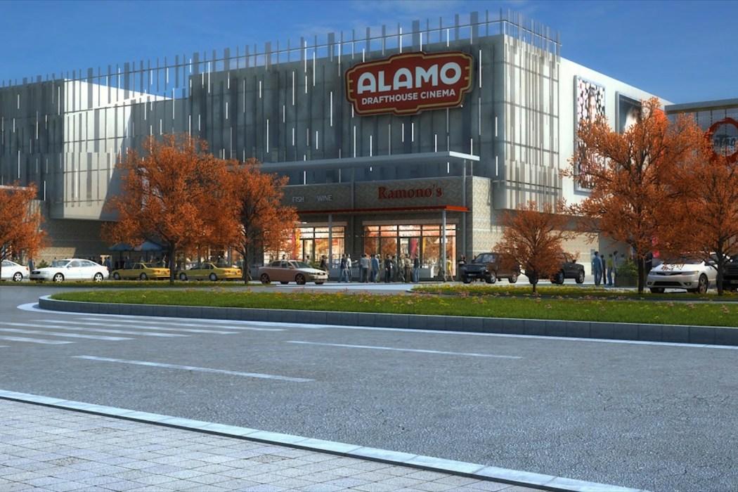 Alamo - Las Colinas rendering. Image by Gensler Architecture - 3