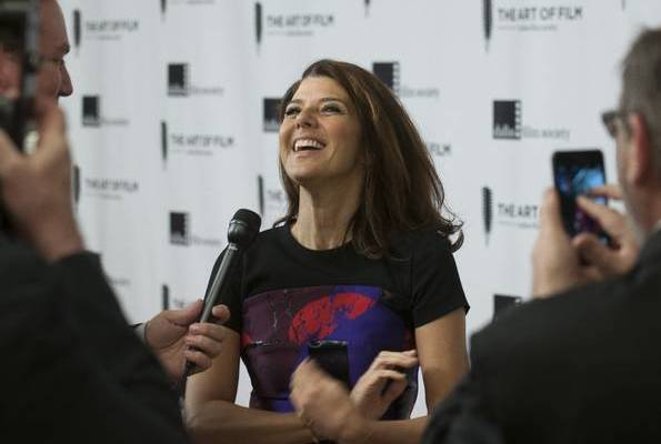 Marisa Tomei on RC for Art of Film 2014 at Perot Museum of Nature and Science on Friday Nov 21.  Photo by Rex. C. Curry