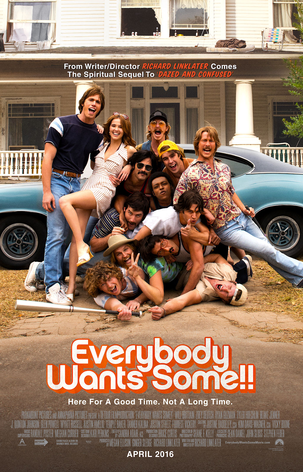 EVERYBODY WANTS SOME poster