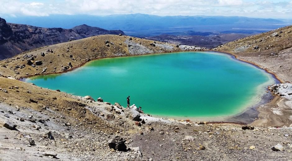 Emarald Lake, Tongariro Alpine Crossing