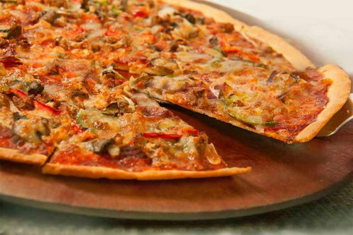 foto pizza yang lezat, papa rons