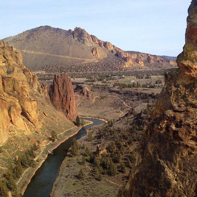 smith rock before
