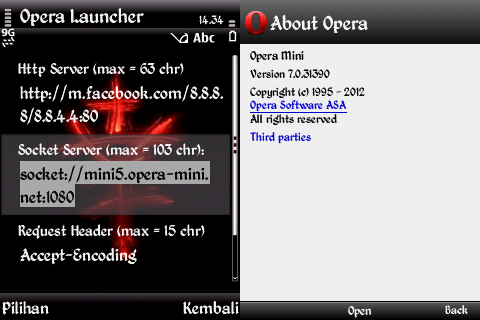 Opera Mini 7.0 (31390) Coexist [With or Without Launcher]