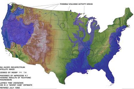 pin rising sea levels may form a lagoon between the shore