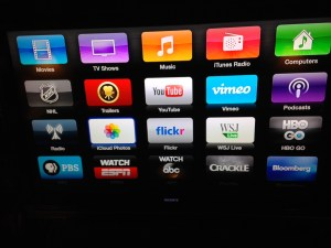 Apple TV and iCloud