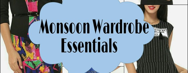 My Fashionmia Monsoon Wardrobe Essentials Wishlist