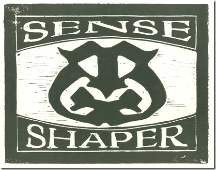 Senseshaper Woodcut- Heavy Inking