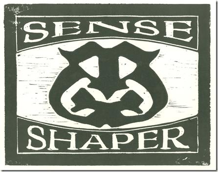 Senseshaper Woodcut- Heavy Inking