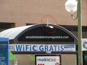 Kiosko con wifi