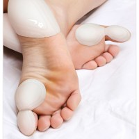 """Footstickers""  magic callouses for bare feet"