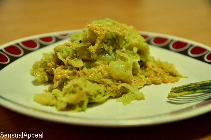 Zucchini Gratin (high protein)