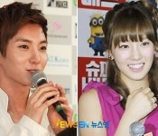 Gasp! Lee Teuk & Tae Yeon Spotted With Same Earring
