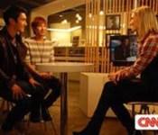 Super Junior Speak on CNN