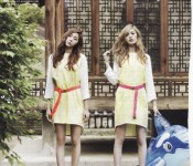 Suspended Animation: Nana and Uee Boring and Beautiful for Vogue Girl
