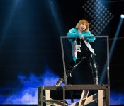 2NE1 Rocks Out at Prudential Center
