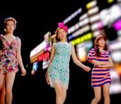 "Orange Caramel Strut Down ""The Gangnam Avenue"""