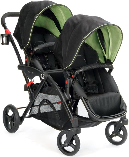 Medium Of Contours Double Stroller