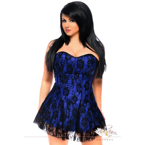 Medium Crop Of Plus Size Corset Dress