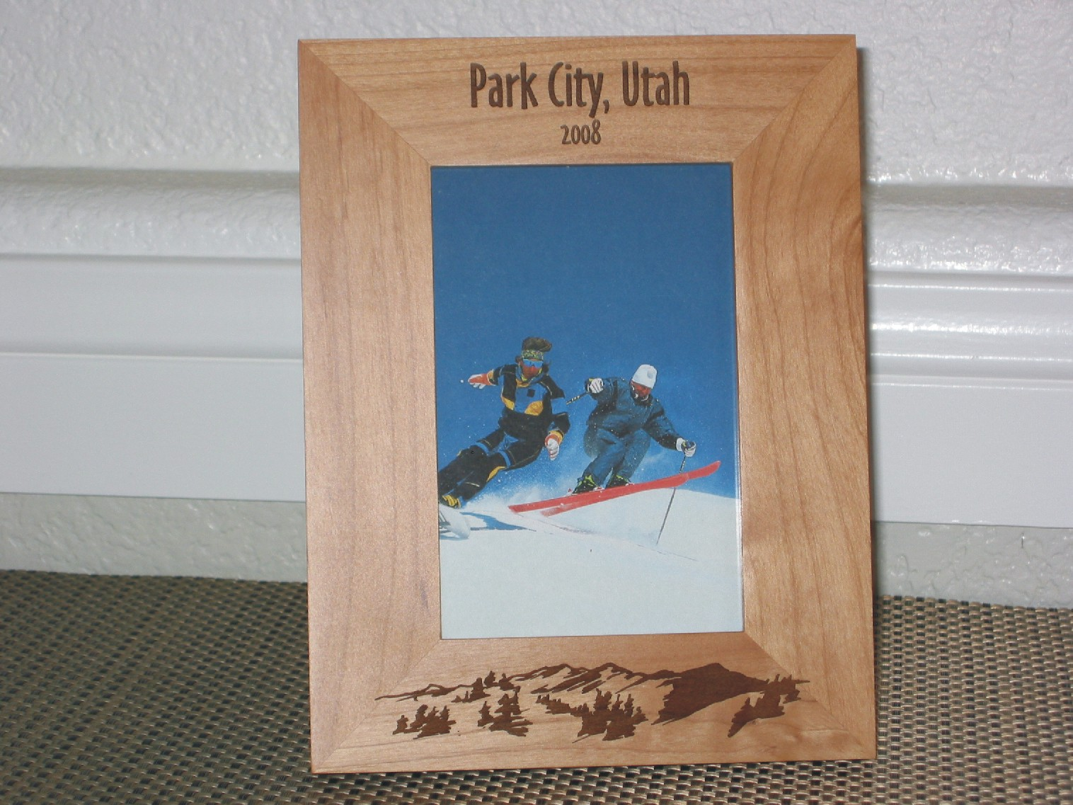 Stylish Park City Utah Frame Personalized Frame Laser Engraved Mountains Park City Utah Frame Personalized Frame Laser Engraved Personalized Frames 8x10 Personalized Frames Cheap photos Personalized Picture Frames